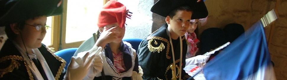 Jeu des costumes Veygoux