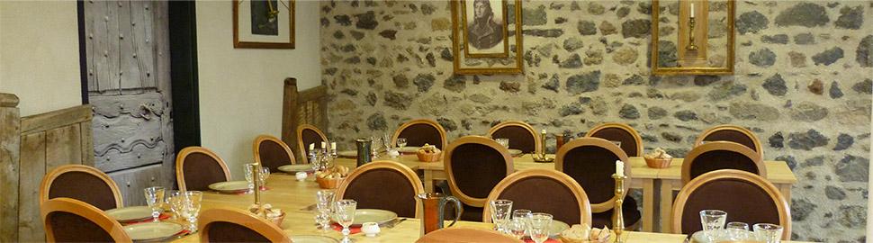 Restaurant le Comptoir Desaix Manoir de Veygoux