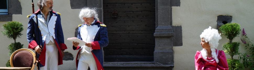 Visites théâtralisées Le petit illustré de la Révolution française