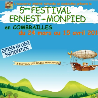 Affiche officielle du Festival Ernest-Monpied 2018