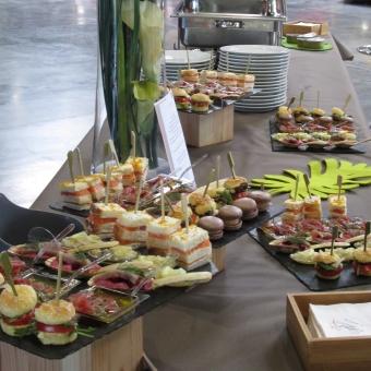 Déjeuner séminaires Manoir de Veygoux