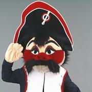 Mascotte Général Moustache