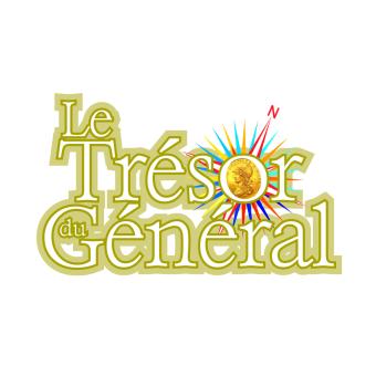 """Logo chasse au trésor """"le trésor du général"""" au manoir de Veygoux"""