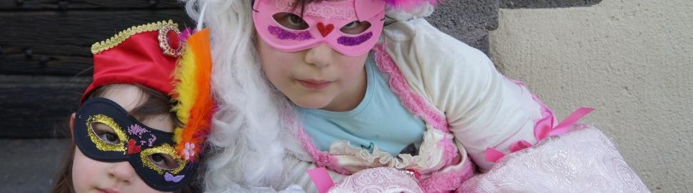 Atelier masque pour les enfants Manoir de Veygoux