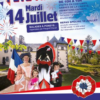 Le 14 juillet, tous à Veygoux !