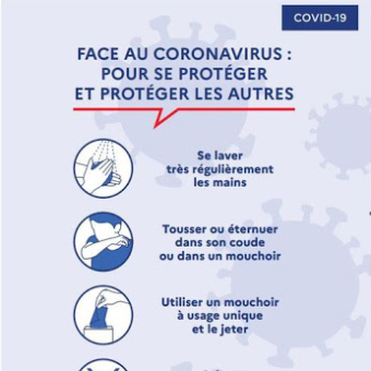Conditions sanitaires Covid-19