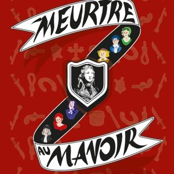 Logo jeu d'enquête Meutre au manoir