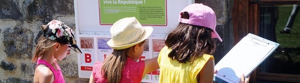 Sortie scolaires Manoir de Veygoux en Auvergne