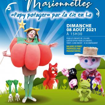 Spectacle de marionnettes Papy potager